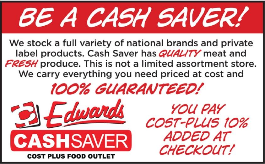 Be A Cash Saver!